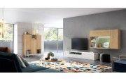 comprar online composicion de salon moderno en muebles lara