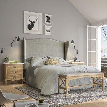 comprar dormitorio rustico en muebles lara
