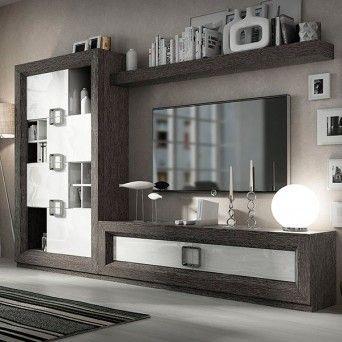 composicion de salon en muebles lara