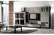 salon contemporaneo en muebles lara
