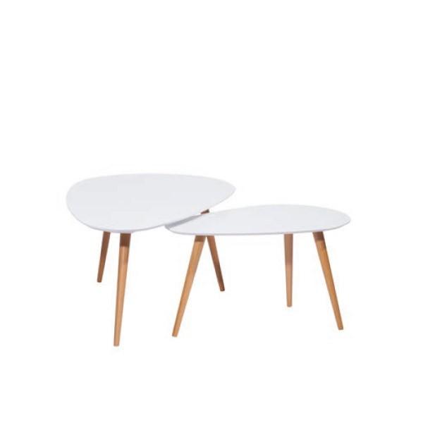 mesa centro estilo nordico Tamar