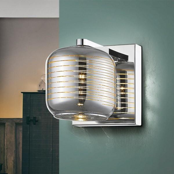 comprar online lampara de pared vias en muebles lara