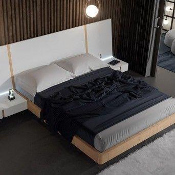 dormitorio moderno en muebles lara