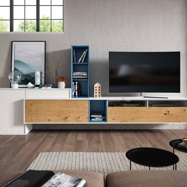 salon moderno en muebles lara