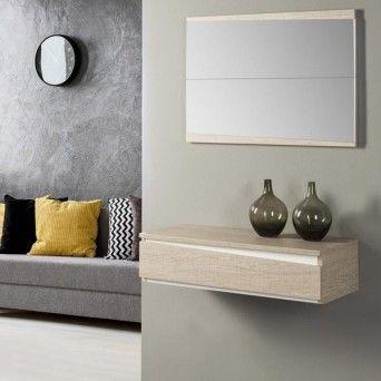 comprar recibidor moderno en muebles lara