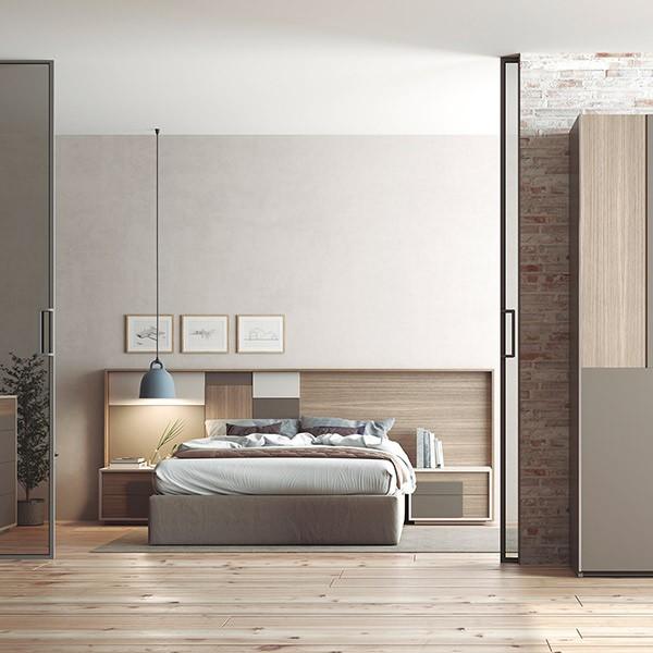 dormitorio contemporáneo Oslo 9